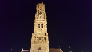 The Belfort at night