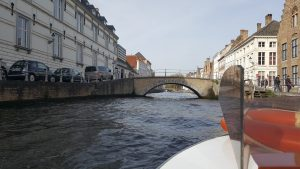 Bruges Canal Tour - Off we go!