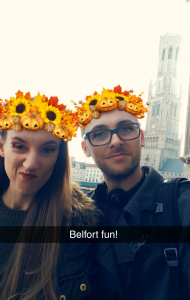 Cute one in front of The Belfort